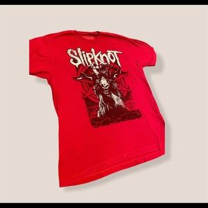 Slip Knot Red T-Shirt Size Large
